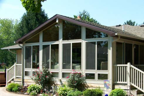 Elegant Sunroom Additions By American Sunspace, Inc.